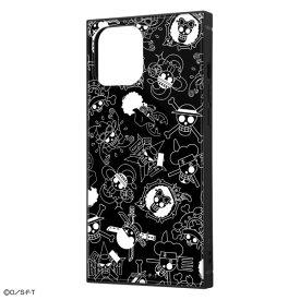 iPhone12 Pro Max ケース iPhone 12 Pro Max カバー ワンピース 耐衝撃 ハイブリッド ケース KAKU [ ストラップ ホール 付き ] スクエア 軽量 /海賊旗マーク iPhone12 Pro Max iPhone12ProMax アイフォン12 プロ マックス
