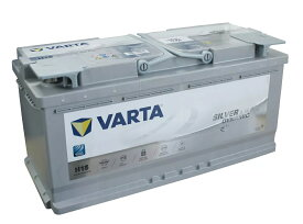 VARTA正規品 VARTA 605-901-095LN6(AGM/H15)バルタ 105Ah SILVER AGM DYNAMIC IS車対応 欧州車用バッテリー