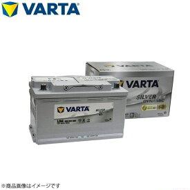 正規品 VARTA 580-901-080LN4(AGM/F21)バルタ 80Ah SILVER AGM DYNAMIC IS車対応 欧州車用バッテリー