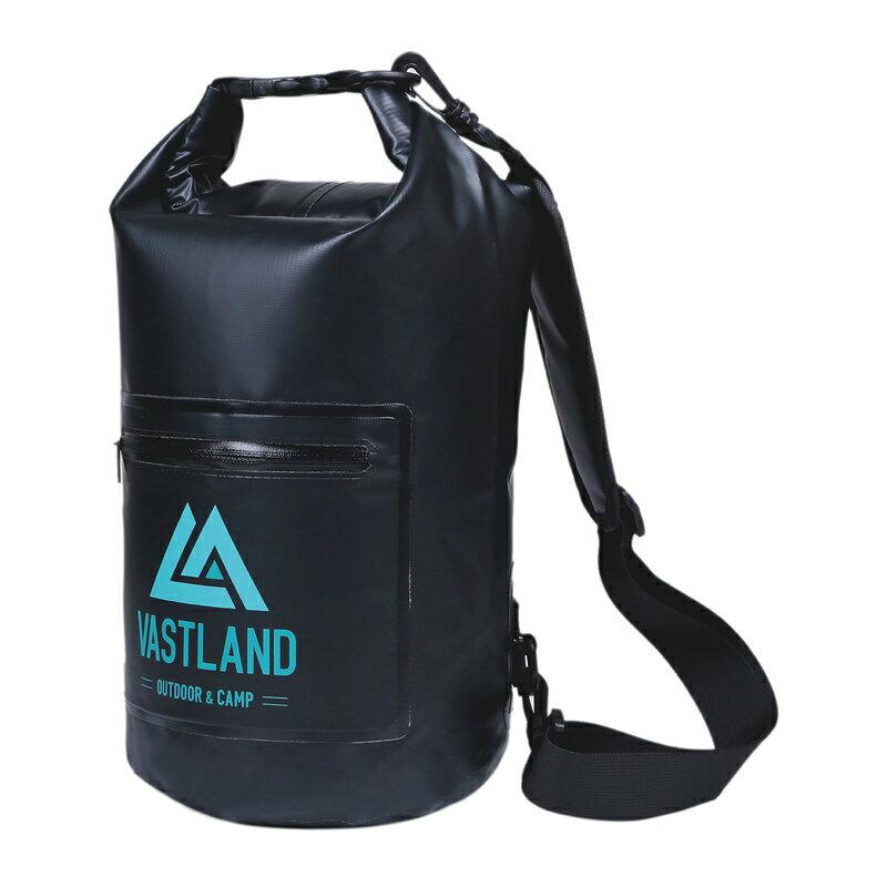 防水バッグ ドライバッグ 10L ショルダー IPX6認証 フロントポケット付き