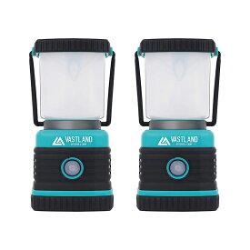 VASTLAND LED ランタン LEDランタン 防災 防犯 1000ルーメン 電池式 2個セット 暖色 白色 4種類点灯モード