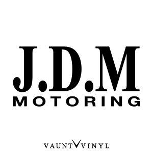 JDM モータリング ステッカー MOTORING カッティング 転写 車 シール オリジナル 洗車 ウインドウ サーフィン スーツケース アクセサリー / パーツ led マフラー カスタム / シビック レクサス ア