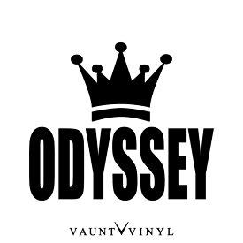 王冠 Odyssey カッティングステッカー / king キング VIP car / オデッセイ ステッカー / rb1 rc3 rc ra7 アブソリュート グリル テールランプ / デカール バイナル / 10P05Aug17