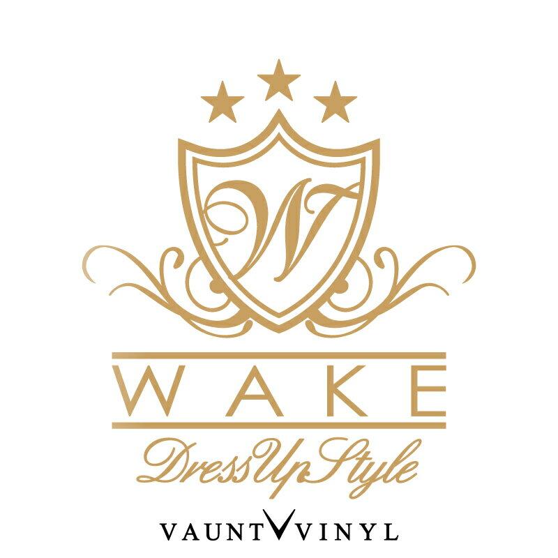 WAKE DressUp Style カッティング ステッカー ウェイク パーツ シート カバー led ダイハツ / ステッカー 車 / リア ウインドウ ウィンドウ 窓 / エンブレム ロゴ マーク / ドレスアップ チーム チューンナップ デコ デコレーション / 10P05Aug17