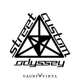 Odyssey Street Custom カッティング ステッカー オデッセイ rb1 rc3 rc ra7 アブソリュート グリル テールランプ / USDM JDM スタンス ヘラフラ キャナビート ヘラフラッシュ カスタム アメ車 デカール / 10P05Aug17