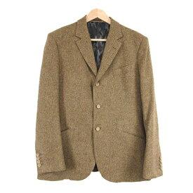 【中古】 美品 イサムカタヤマバックラッシュ ISAMU KATAYAMA BACKLASH 3P スーツ セットアップ ジャケット ジレベスト スラックスパンツ ブラウン/☆K08 メンズ 【ベクトル 古着】 190609
