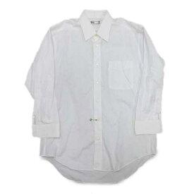 【中古】ダックス DAKS ワイシャツ カットソー 長袖 無地 41-76 白 ホワイト/16◎5 メンズ 【ベクトル 古着】 200519 ベクトル マークスラッシュ