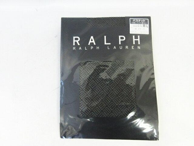 未使用品 ラルフローレン RALPH LAUREN ストッキング レース 黒 ブラック サイズM〜L レディース 【中古】【ベクトル 古着】 180310 ベクトル マークスラッシュ