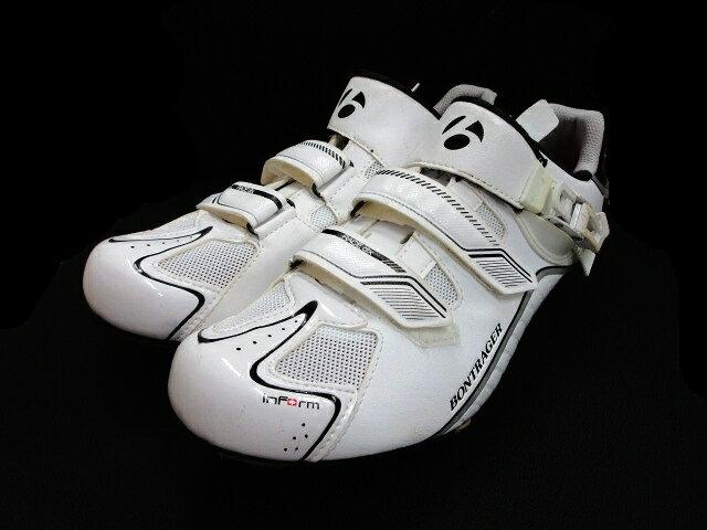 ボントレガー BONTRAGER サイクリング ロード シューズ RC DLX Road サイズ28.3cm 白 ホワイト メンズ 【中古】【ベクトル 古着】 180629 ベクトル マークスラッシュ
