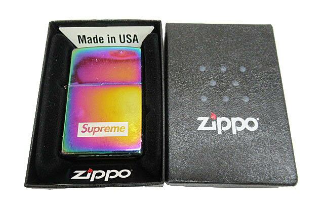 シュプリーム SUPREME 16AW Spectrum Iridescent Zippo スペクトラム イリディセント ジッポ ライター ブランド古着ベクトル 中古☆AA★180730 0040 メンズ レディース 【中古】【ベクトル 古着】 180730 プリマベーラ