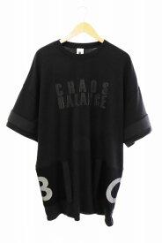 【中古】ナイキ NIKE ×UNDERCOVER アンダーカバー NRG TOP ロゴ 半袖Tシャツ BV7130-010 L 黒 ブラック ブランド古着ベクトル 中古200310 0070 メンズ 【ベクトル 古着】 200310 プリマベーラ