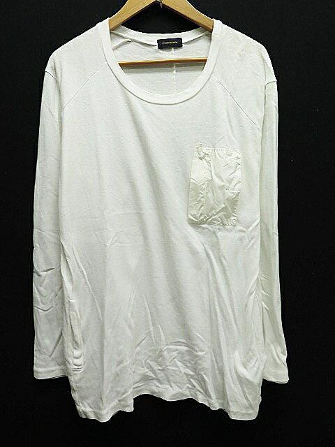 アンダーカバーイズム UNDERCOVERISM 胸ポケット Tシャツ 長袖 カットソー2アイボリー メンズ 【中古】【ベクトル 古着】 170823 プリマベーラ