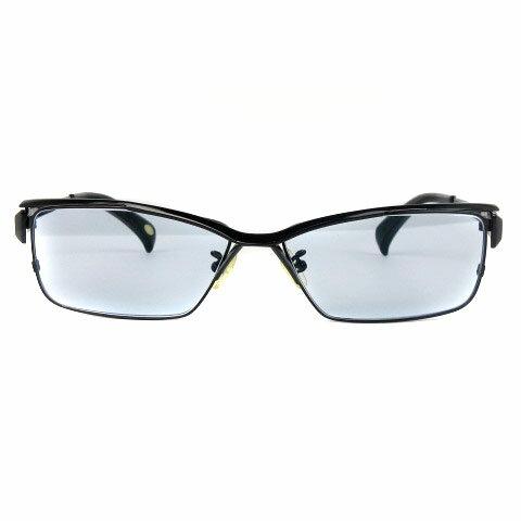 ジャンクションプロデュース JUNCTION PRODUCE メガネ 眼鏡 度入り チタン フルリム カラーレンズ JP-029 黒 ブラック 59□14 132 メンズ 【中古】【ベクトル 古着】 180319 ブランド古着ベクトルプレミアム店