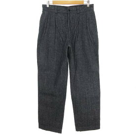 【中古】 アボンタージ A VONTADE Mil 2 Tac Trousers デニム ツータック トラウザー パンツ M インディゴ VDT-0390-PT メンズ 【ベクトル 古着】 190604