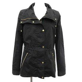【中古】 コールハーン COLE HAAN ジャケット ナイロン XS 黒 ブラック /KH レディース 【ベクトル 古着】 190510