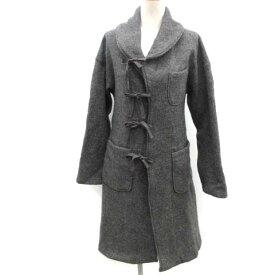 【中古】エンジニアードガーメンツ Engineered Garments ロングコート リボン ウール 1 グレー /EK レディース 【ベクトル 古着】 190816 ベクトルプレミアム店