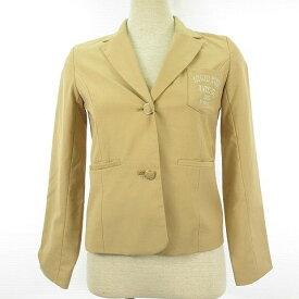 8e90496e62057 キッズ First テーラードジャケット ブレザー 長袖 ベージュ 150  A977 レディース  中古  ベクトル