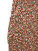 アダムエロペ Adam et Rope' underwear tapered floral design button fried food cotton 36 multicolored ☆ CA ☆ キ 29-2 /fy0109 Lady's 190109 brand old clothes vector premium shop