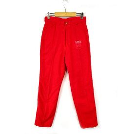 エドウィン EDWIN SOMETHING ONES パンツ 赤 73 裏地付き レディース 【中古】【ベクトル 古着】 171218 ベクトル店