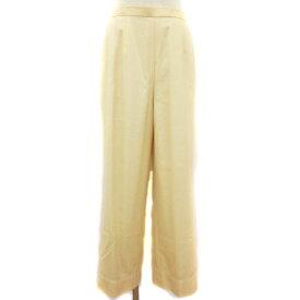 【中古】 レオナール LEONARD ファッション FASHION ウール シルク タック テーパード パンツ /ts0415 レディース 【ベクトル 古着】 190415