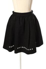 【中古】 リリーブラウン Lily Brown 16AW ノルディック 刺繍 スカート /mm0513 レディース 【ベクトル 古着】 190517