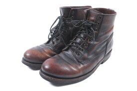 【中古】 ブッテロ BUTTERO ブーツ ショート レースアップ 40 茶 ブラウン /hn0521 メンズ 【ベクトル 古着】 190521