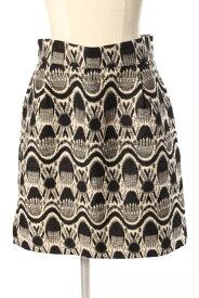 【中古】 マルティニーク martinique 総柄 刺繍 スカート /ms0416 レディース 【ベクトル 古着】 190420