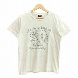 グッドオル GOOD OL' Tシャツ カットソー 半袖 ラウンドネック S 黄色 イエロー LEK メンズ 【中古】【ベクトル 古着】 190228 ブランド古着ベクトルプレミアム店