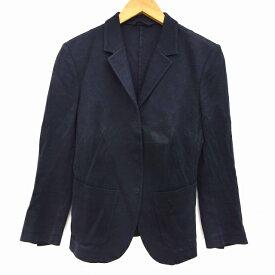 【中古】 ニールバレット Neil Barrett ジャケット シングル テーラード S 紺 ネイビー レディース 【ベクトル 古着】 190404