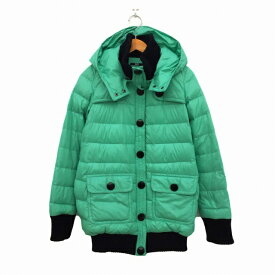 【中古】 スライ SLY ジャケット ダウン ロング 1 緑 グリーン レディース 【ベクトル 古着】 190424