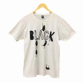 【中古】 グラニフ graniph Design Tshirts Store graniph Tシャツ カットソー 半袖 M 白 ホワイト KO メンズ 【ベクトル 古着】 190515