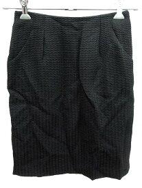 【中古】 ボールジー BALLSEY トゥモローランド スカート タイト ミニ 36 黒 ブラック /YI レディース 【ベクトル 古着】 190416