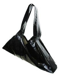 【中古】 トーガ TOGA ARCHIVES バッグ ハンド エナメル 折りたたみ 黒 ブラック /YH1 レディース 【ベクトル 古着】 190611