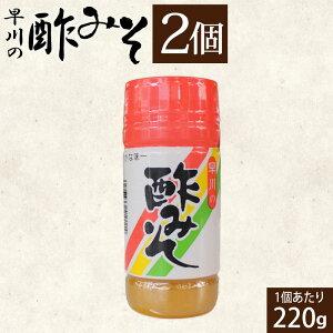 早川の 酢みそ 2個 米みそ 福山酢 からし ドレッシング すみそ 酢味噌 送料無料
