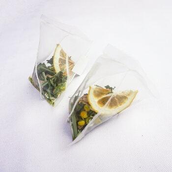 五感で楽しむオーガニック・オリジナルハーブティー【瀬戸内レモン&カモミール】