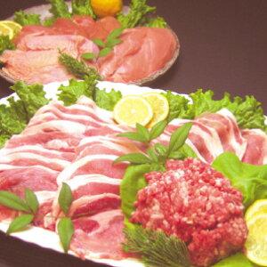 千葉産直サービス こだわりのお肉6パック(エコかざ鶏(鶏もも肉300g・むね肉300g) 房総もち豚(豚ローススライス200g・ももスライス200g・ミンチ250g) 紫峰牛(牛赤身ももスライス200g