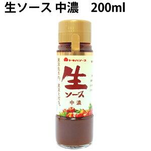 トキハ生ソース 中濃 200ml 6本