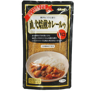 ムソー 直火焙煎カレールゥ 辛口 170g 4袋