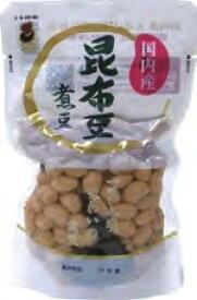 志賀商店 国内産昆布豆煮豆 スタンドパック 180g 8個