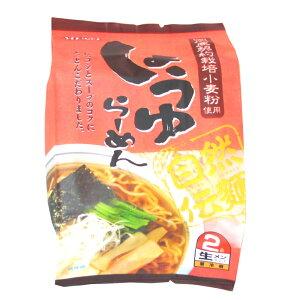 ムソー らーめん 自然伝麺 醤油 2食分 20袋