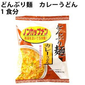 無添加 どんぶり麺 ノンカップメン カレーうどん 1食分 ×24袋 国産小麦粉使用