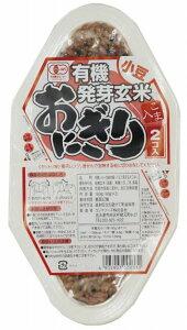 コジマ 有機発芽玄米おにぎり・小豆 90g×2 8個