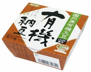 ムソー国産有機大豆使用・有機納豆 40g 18個