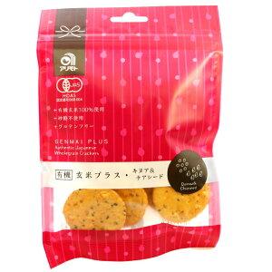 有機玄米プラス・キヌア&チアシード (せんべい) 40g×30袋 アリモトの玄米せんべい