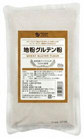 オーサワオーサワの地粉グルテン粉 200g 3袋
