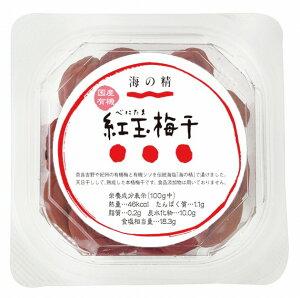 海の精有機 紅玉梅干 120g 6個