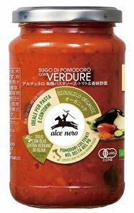日仏貿易アルチェネロ 有機パスタソース(トマト&香味野菜) 350g 6袋