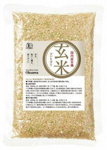 オーサワ有機玄米(コシヒカリ)国内産 300g 6袋