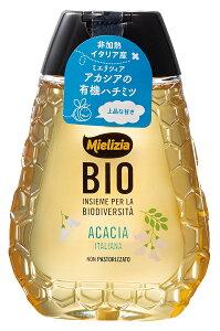 日仏貿易ミエリツィア アカシアの有機ハチミツ(スクイーザーボトル) 250g 2本