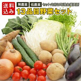 野菜 詰め合わせ 13品目こだわり 野菜セット